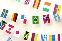 Around the World Child's Birthday Party / Ideas for an inexpensive birthday party with an international theme.