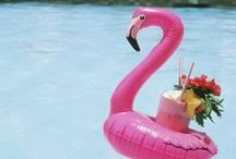FLAMINGO / Summer trend: Carry on from last Summer, the Flamboyant Flamingos  trend is back again