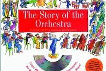 """The Story of the Orchestra / This board is for extra resources to use along with the book """"The Story of the Orchestra"""" by Robert Levine. Used as an elective in Sonlight Core D. http://amzn.to/1LdpG5l"""