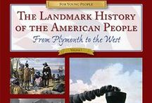 """The Landmark History of the American People: Vol. 1 / Resources for using alongside the book """"The Landmark History of the American People (Volume 1): From Plymouth to the West"""", used in Sonlight's Core D (http://www.sonlight.com/DH10.html). Includes printables for lapbooks & notebooking, websites & videos for additional information, & supplemental reading. Each pin includes the chapter its resource coordinates with. You'll find pins for all 22 chapters! See my board for Core D here: https://www.pinterest.com/booklovinmom/sonlight-core-d/"""