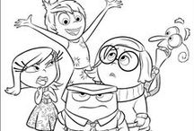 Kids colouring sheets / Keeping little ones busy this summer