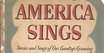 America Sings: Stories and Songs of Our Country's Growing / Video and audio recordings of the songs in this book, so you can sing along.