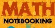 Math Journal Resources / Printables and ideas for creating math journals for all ages