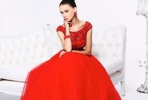 Radiant Red Prom Dresses / Radiant Red Prom Dresses, Shoes, Accessories and Make Up Ideas for Prom, Pageant, Homecoming and all Formal Events!