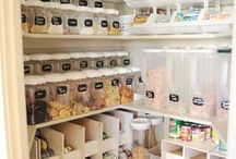 Organizational Ideas / Ideas for the 'perfect' pantry, and to help get me more organised!