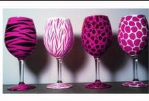 Wine glasses  / by Kimberly Neale
