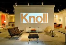 Knoll Showrooms / From the start, Knoll showrooms have been a place for us to showcase design innovation.  What's cutting edge has changed a lot in the last 75 years, but good design hasn't. / by Knoll Design