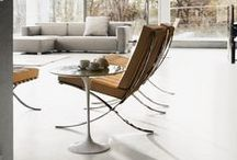 Knoll for Home / Nothing is more classic, more timeless, than modern design. Draw inspiration for your home, accented and grounded by the likes of Harry Bertoia, Maya Lin, Mies van der Rohe, Eero Saarinen...