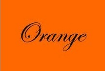 Oh how I LOVE ORANGE!!! / I absolutely love orange!!! / by Kathy Logan