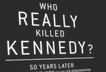 JFK THEORY BOOKS / Books I've read about various possible scenarios about the murder of John F Kennedy.