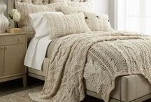 Bed Dressing / Lovely bedcovers, pillows