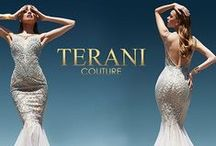 Terani Couture / Terani Couture is a world-renowned designer of special occasion evening and formal wear fundamental for any glamorous occasion.  Visit your Authorized International Prom Association Retailer for your next Terani Couture look.