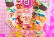 Candy Kabob ideas for a Beading Buds birthday party