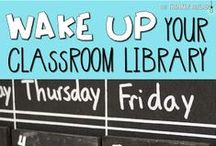 Classroom Library / Classroom Library Ideas & Inspiration for Middle School Teachers!