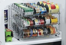 Pantry & Fridge Storage for Small Spaces / Food storage ideas for small living spaces