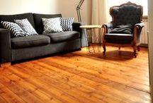 Old pine floor