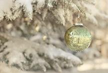 Christmas ~ Green & White