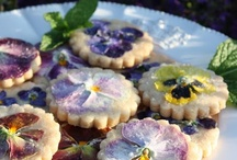 Good Things to Eat - Edible Flower Recipes