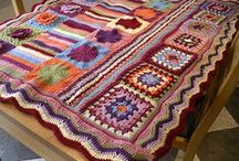 Crochet Blankets / Ideas for blankets, sometimes with pattern links, sometimes just for inspiration