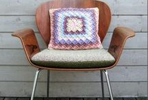 Crochet Pillows / Pillows and Cushions - sometimes with pattern links, sometimes just for inspiration