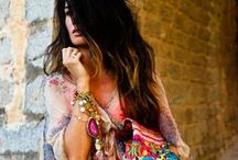 Bohemian Ibiza Look / Love that easy & breezy beachy Bohemian Ibiza look!