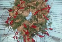 Door Decor Christmas / by Connie Daviau