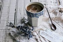 tea + coffee.