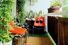 Home: Balcony Ideas / by Tessa Huff- Style Sweet CA