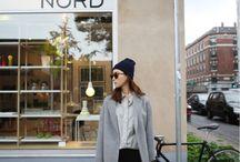 Scandinavia / scandinavian fashion style minimalistic simple
