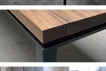 Стол (дерево/металл)