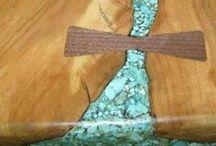 INLAY / wood, jewelry, furniture, resin, acrylic, stone