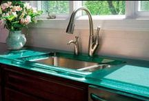Artistic Countertops / glass, wood,concrete and tile countertops