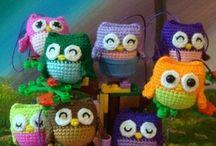 Crochet: Amigurumi Awesomeness! / Amigurumi patterns!! / by Paige Bruzdowski