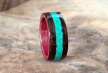 Wood Jewelry / handcrafted jewelry made from wood