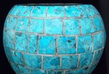 Turquoise / turquoise inlays, turquoise stone