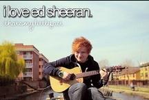 Ed Sheeran / by Amanda Holmes