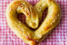 Bread Recipes / All sorts of bread recipes!  From pretzels, rolls, buns to loaves of wheat and bread sticks.