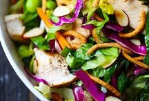 Salad Recipes / Salads are such a staple food world wide.  Pin these fresh and awesome salads to your own salad boards!