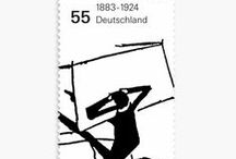 LOVE · STAMPS · / #stamp #graphic #collection #design #illustration / by ecken brueller