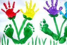 Kids Handprint Craft! / by Rianne van Boxtel
