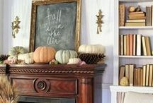 Styling: Fall / Fall styling for the home. Fall holidays. Halloween. Thanksgiving. Fall inspired food.