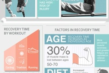 Health Related Infographics / Infographics relating to health, fitness, and wellness.