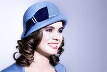 Blue hats by Mademoiselle Slassi