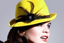 Yellow hats by Mademoiselle Slassi