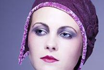 Flapper hats by Mademoiselle Slassi