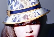 Animal print hats by Mademoiselle Slassi