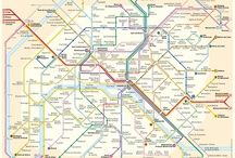 Metro Map Design / Sometimes the metro map is the key. / by Traveller's Magazine