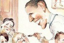 ✩POLITICS: President Barack Obama / by Diane Davis