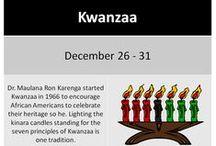 Kwanzaa / by Lifestyle Xpressions Beauty & Wellness