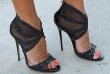 Sizzling Ladies' Shoes / Hot high heels.... / by Marian Kraus